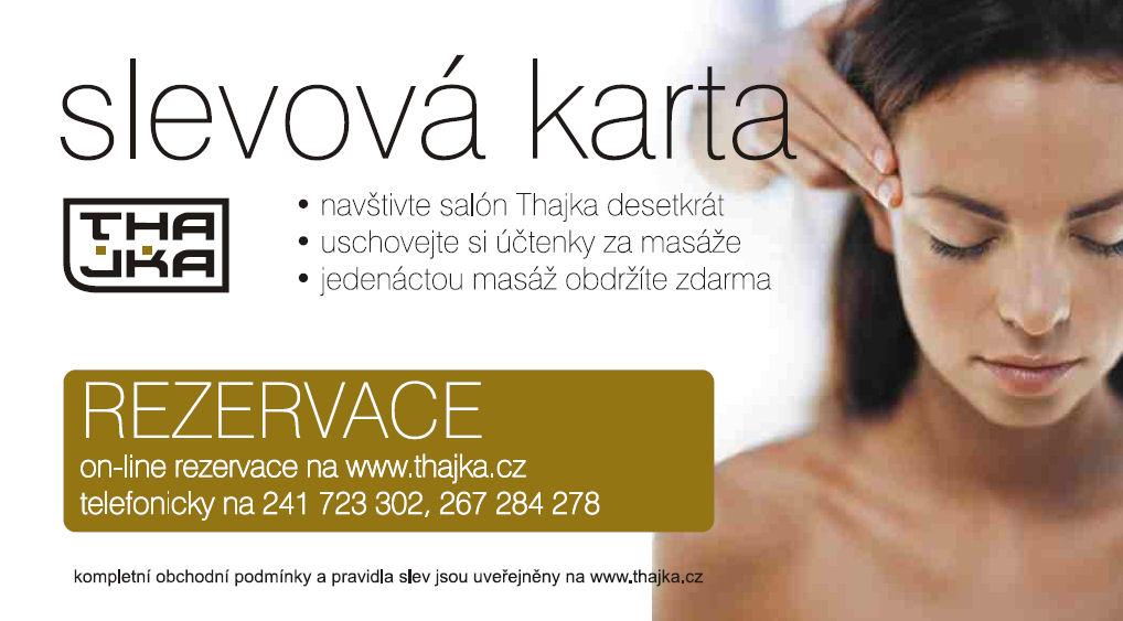 voucher na thajskou masáž Praha